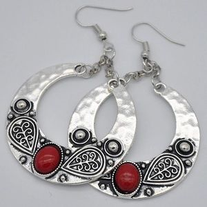 Jewelry - Bohemian Tibetan earrings🌸